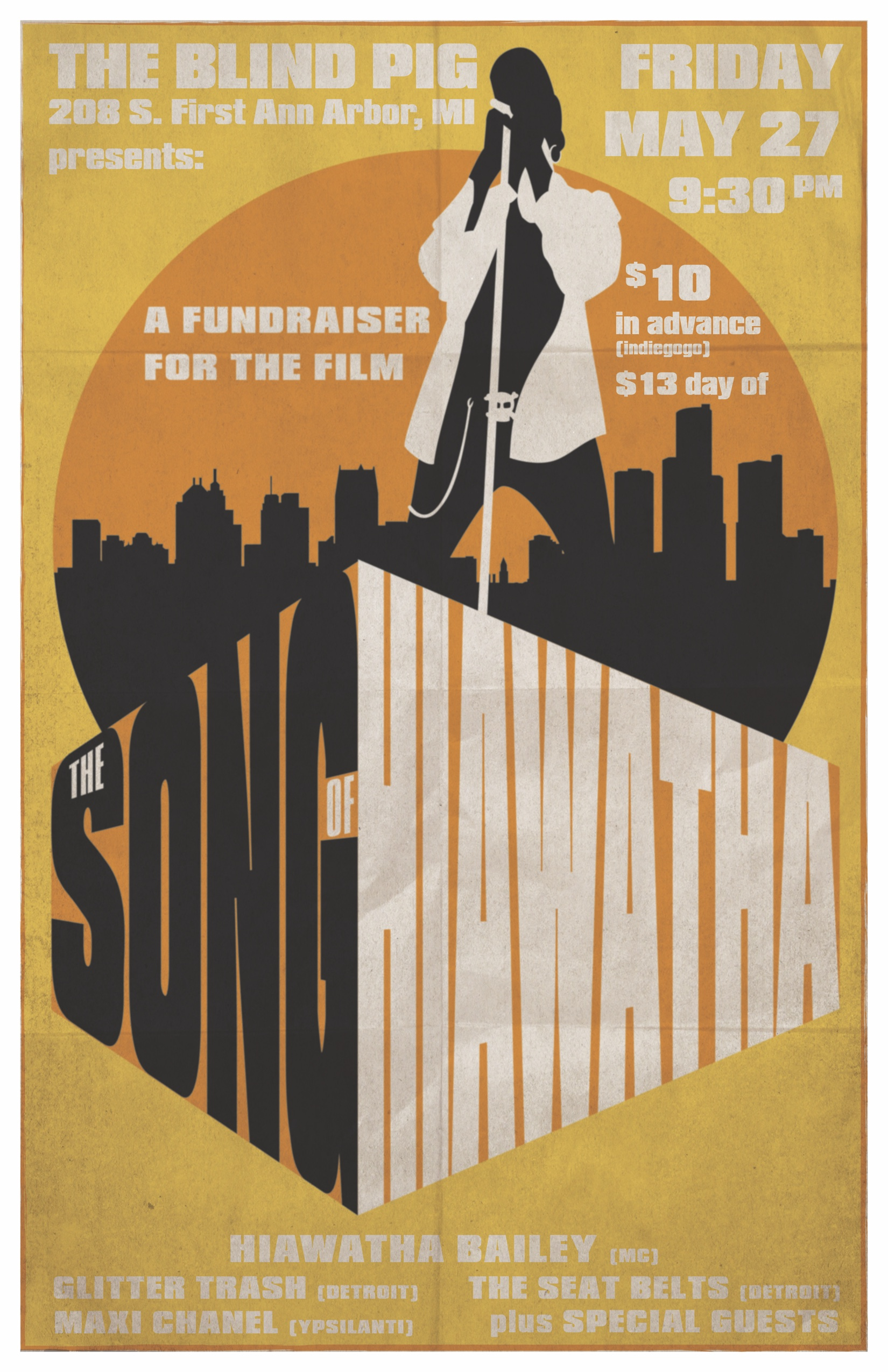 Hiawatha_movie_fundraiser poster